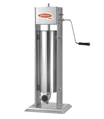 Fleetwood 7V 15-lb Manual Vertical Sausage Stuffer w/ Removable Cylinder