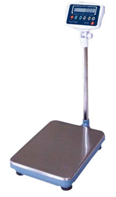 Fleetwood BX-600PLUS Platform Receiving Scale w/ 600-lb Capacity, Tilt Head, 120 V