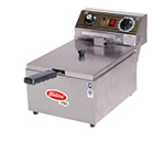 Fleetwood EF101-2 Countertop Electric Fryer - (1) 16.5-lb Vat, 220v/1ph
