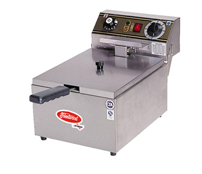 Fleetwood EF101 Countertop Electric Fryer - (1) 16.5-lb Vat, 110v/1ph