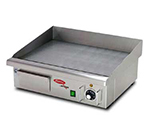 Fleetwood EG548 21-in Countertop Grill w/ Single Thermostat, 5/16-in Plate, 110 V