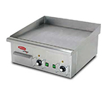 Skyfood EG618 24-in Countertop Grill w/ Dual Thermostats, 5/16-in Plate, 220 V