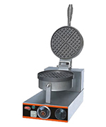 Fleetwood EHF-1 Single Round Waffle Baker w/ Aluminum Grid, 20 Per Hour, 110 V