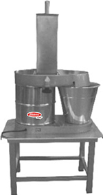 Fleetwood PA-141 Heavy Duty Cheese Vegetable Slicer w/ Oversized Catch Bucket, Stand