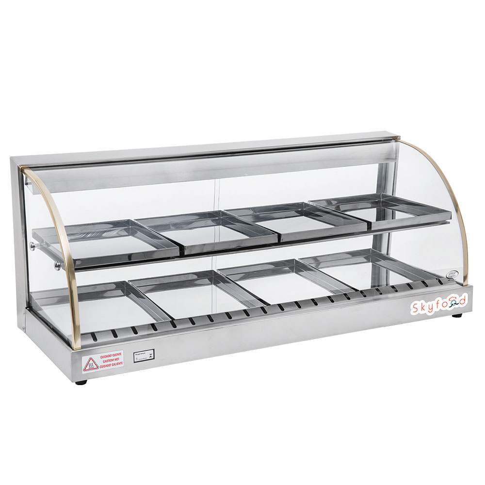 Skyfood FWD2-43 43-in Double Shelf Food Warmer Display Case