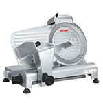 Skyfood GL250 Compact Economy Slicer w/ Gravity Feed, 10-in Diameter, .5-in Thick