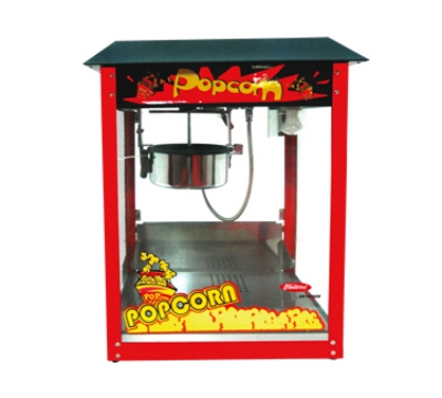 "Skyfood PC-8 8-oz Popcorn Machine - 16.5x30x22"", Removable Kettle, Stainless Steel"