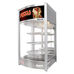 "Skyfood PD3TS Heated Pizza Merchandiser - Holds (3) 14"" Trays, 110v"