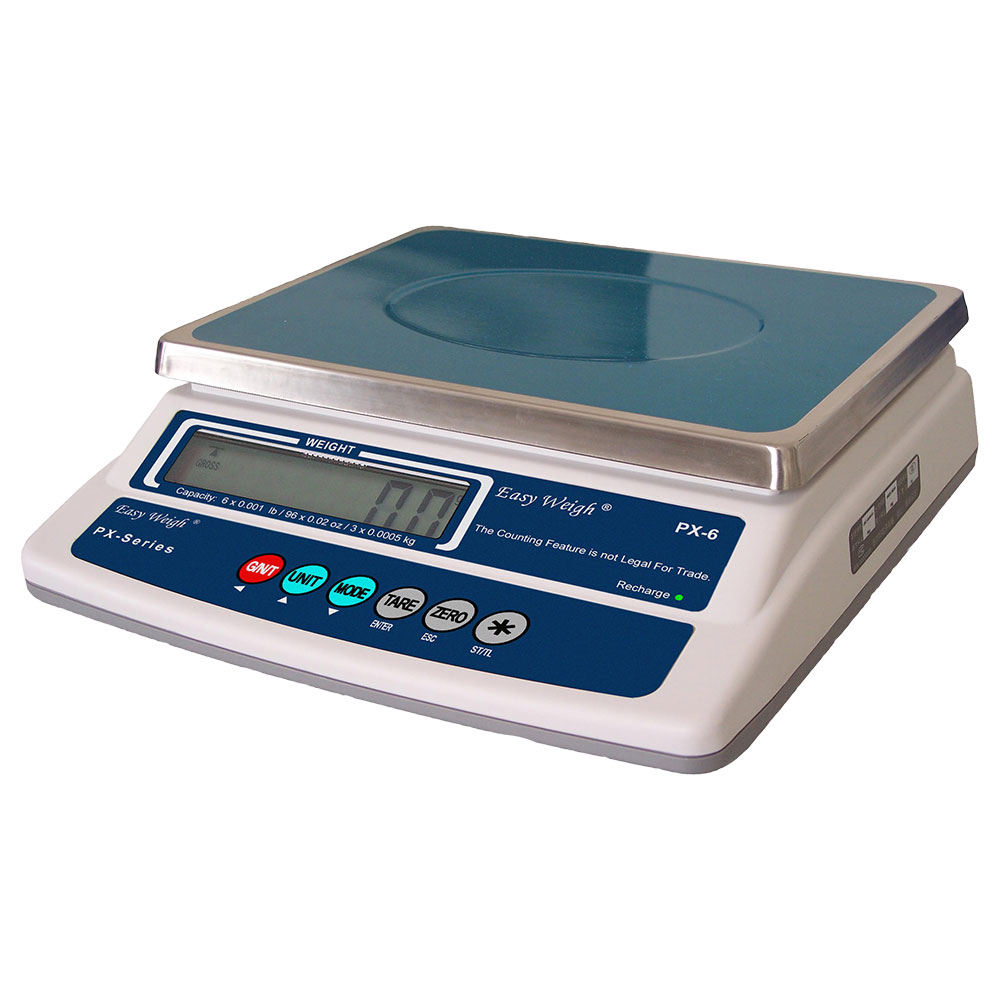 "Skyfood PX-12 12-lb Portion Control Scale w/ 11-4/5 x 8-2/3"" Platform"