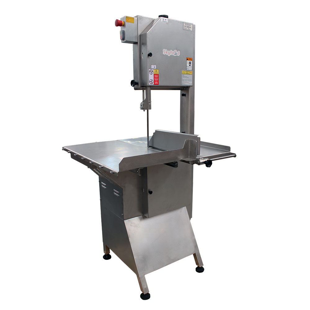 Fleetwood SI-282HDE-1 Heavy Duty Floor Model Meat & Bone Saw w/ 112-in Blade, 2000-lb/1-Hr Production, 220/1V