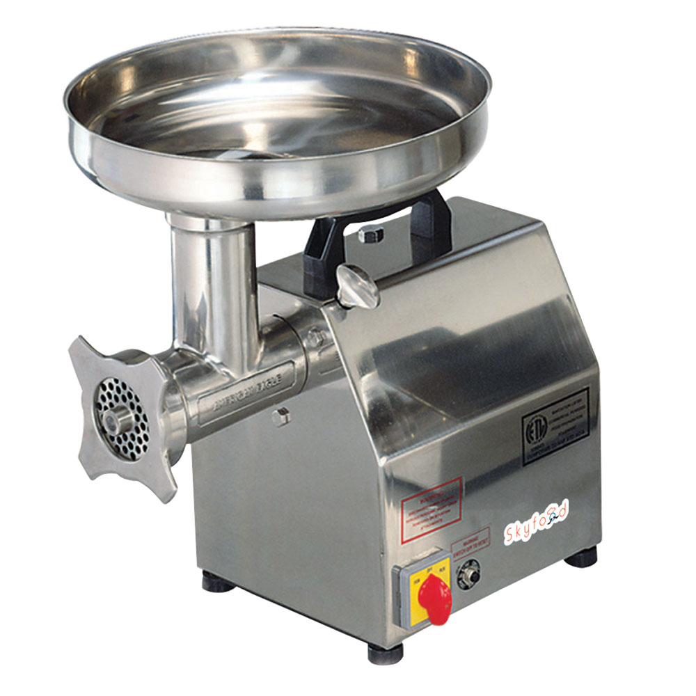 Fleetwood SMG12 Meat Grinder w/ 1-hp, 260lbs/hr, Stainless
