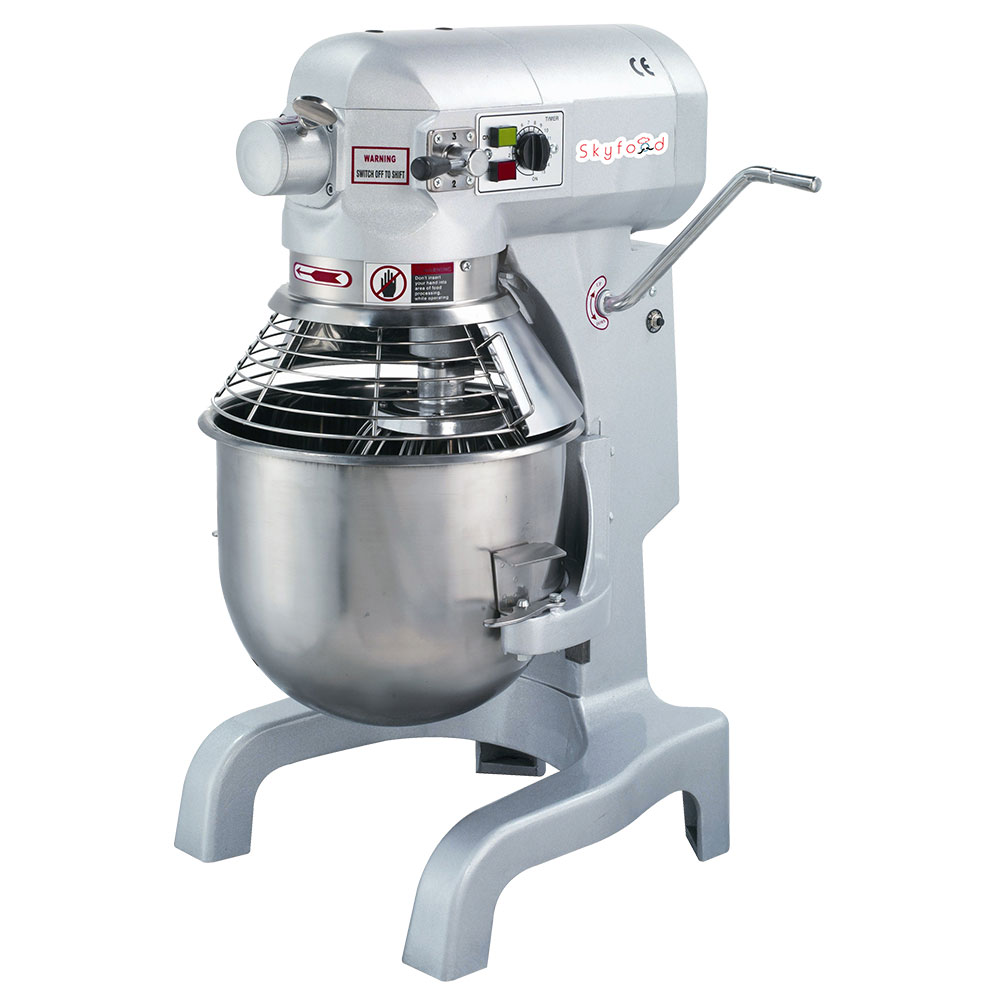 Fleetwood SPM20 110V 20-qt Table Top Planetary Mixer w/ 3-Speed, 110v