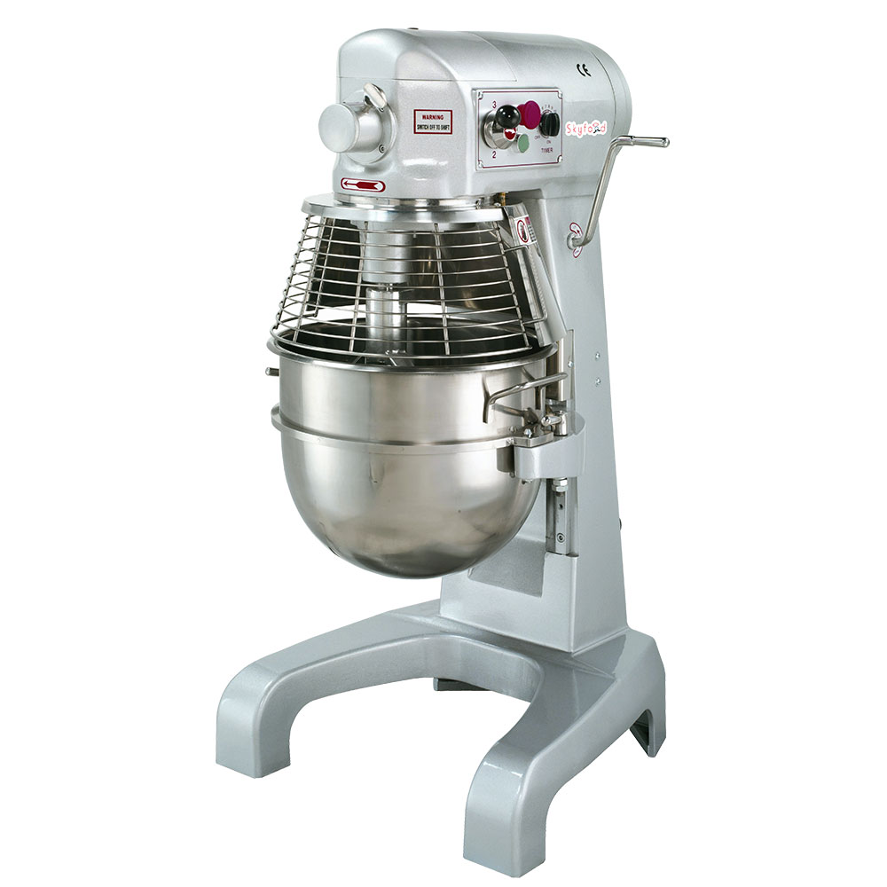 Fleetwood SPM30 110V 30-qt Table Top Planetary Mixer w/ 3-Speed, 110v