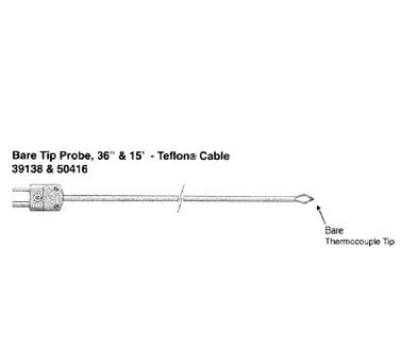 Cooper 39138-K Bare Tip Probe, -328 To 400-Degrees F