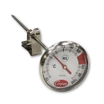 Cooper 2237-04C-8 Espresso Thermometer w/ Vessel Clip, 10 To 120-Degrees C