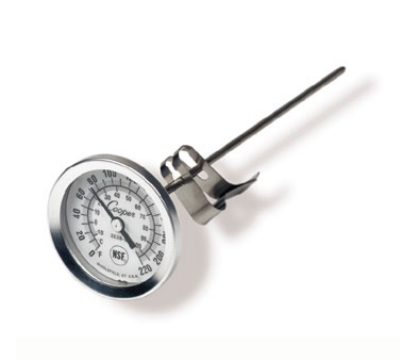 Cooper 2238-06-3 Steam Table Sauce Pocket Thermometer, 0 To 220-Degrees F
