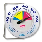 Cooper 255-14-1 Environmental Freezer Thermometer, -10 To 80-Degrees F