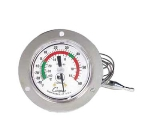 "Cooper 6142-20-3 5-oz Dual Scale Dial Thermometer w/ 3"" Front Flange, -40 To 60-Degrees F"