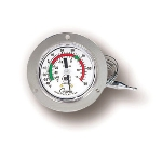 "Cooper 6142-58-3 Dual Scale Dial Thermometer w/ 3"" Front Flange, -40 To 60-Degrees F"