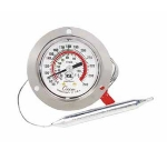 "Cooper 6142-06-3 2"" Panel Type Dual Scale Dial Thermometer w/ Polycarbonate Lens"