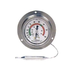 "Cooper 6812-01-3 2"" Panel Type Thermometer w/ Back Flange, -40 To 60-Degrees F"