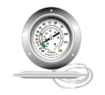 "Cooper 6812-02-3 2"" Panel Type Thermometer w/ Back Flange, -40 To 120-Degrees F"