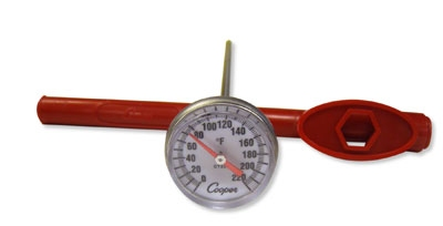 Cooper Instrument CT220-51-6 Pocket Test Thermometer, 0 To 220-Degrees F