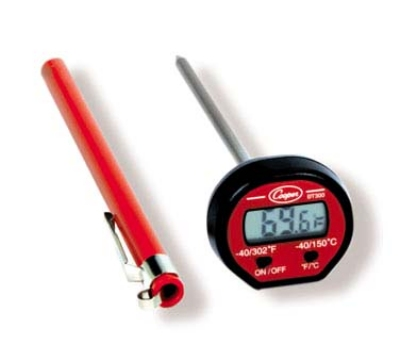 Cooper Instrument DT300-0-8 Oval Style Test Thermometer w/ Digital Display, -40 To 302-Degrees F