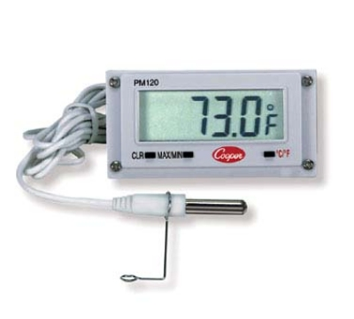 "Cooper PM120-0-8 Digital Type Mini Remote Thermometer w/ 39"" Sensor rod"