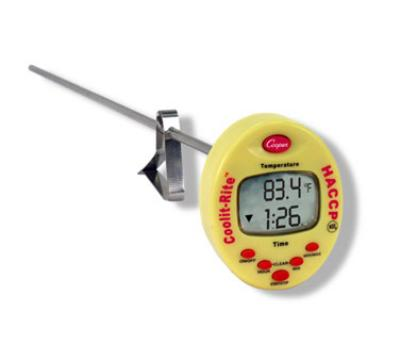 Cooper TTM41-0-8 Waterproof Cooling Monitor, Temperature Range -4 to 302 F, NSF