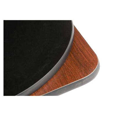 "Oak Street CKTL30R-MB 30"" Round Reversible Cocktail Table Top, Mahogany & Black"