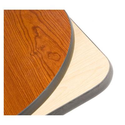 "Oak Street CN3048 Rectangular Reversible Table Top, 30 x 48"", Cherry & Natural"