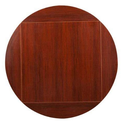 Oak Street MB4242FLIP60-M 42-in Square To 60-in Round Flip Table Top, Mahogany