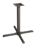 "Oak Street B36-STD Dining Height Table Base w/ 36 x 36"" Base Spread, Cast Iron"