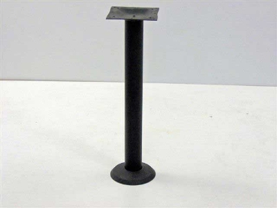 Oak Street Mfg BDB-STD Dining Height Bolt Down Table Base w/ 3-in Diameter, Cast Iron