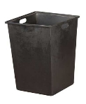 Oak Street Mfg DPI MD 6009 Tote Box w/ 20-Gallon Capacity & Hand Holes For M8520 Trash Cans