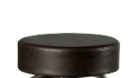 Oak Street Mfg SL2129TOP-ESP Replacement Button Top Bar Stool Seat, Espresso Vinyl