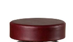 Oak Street SL2129TOP-WINE Replacement Button Top Bar Stool Seat, Wine Vinyl