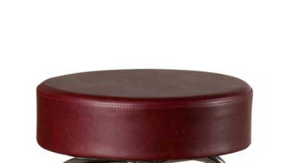 Oak Street Mfg SL2129TOP-WINE Replacement Button Top Bar Stool Seat, Wine Viny