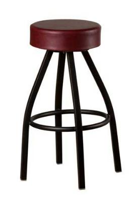Oak Street Sl2132 Wine Swivel Bar Stool W Tapered Frame
