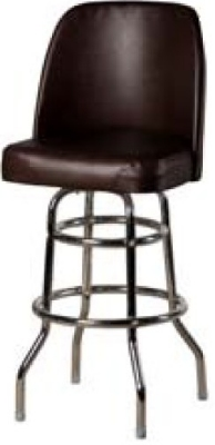 Oak Street Sl3134 Wine Swivel Bar Stool W Double Ring