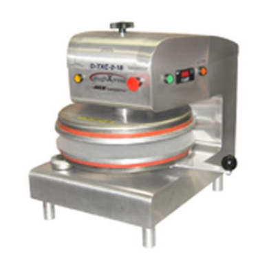 DoughXpress D-TXE-2-18 Automatic Tortilla Pizza Dough Press, Electro-Mechanical, 220/1 V