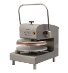 DoughXpress DXM-WH 120 Manual Pizza Dough Press w/ Uncoated Platens, Pull Down Handle, 120 V