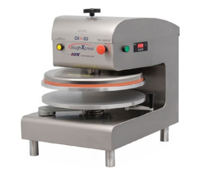 DoughXpress DXA-SS 120 Automatic Pizza Dough Press, Aluminum Platens, 120