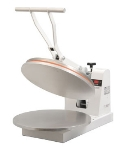 Doughxpress DM-18 120 Manual Pizza Dough Press, Heated Upper Aluminum Platen, 120 V