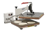 "DoughXpress TXM-15 Manual Tortilla Pizza Dough Press, 15 x 15"" Platen, Export"