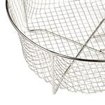 "Lodge 10FB2 10.5"" Round Fryer Basket, Nickel Plated"