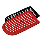 Lodge 2HH2 Hot Handle Mitt Set w/ Black White & Red White Stripe