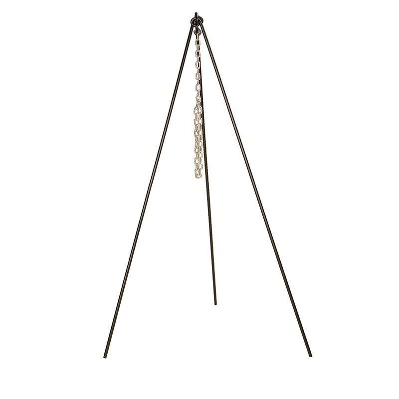 Lodge 5TP2 Tall Boy Tripod w/ 36-in Chain & .5-in Bar Stock, 60-in Legs