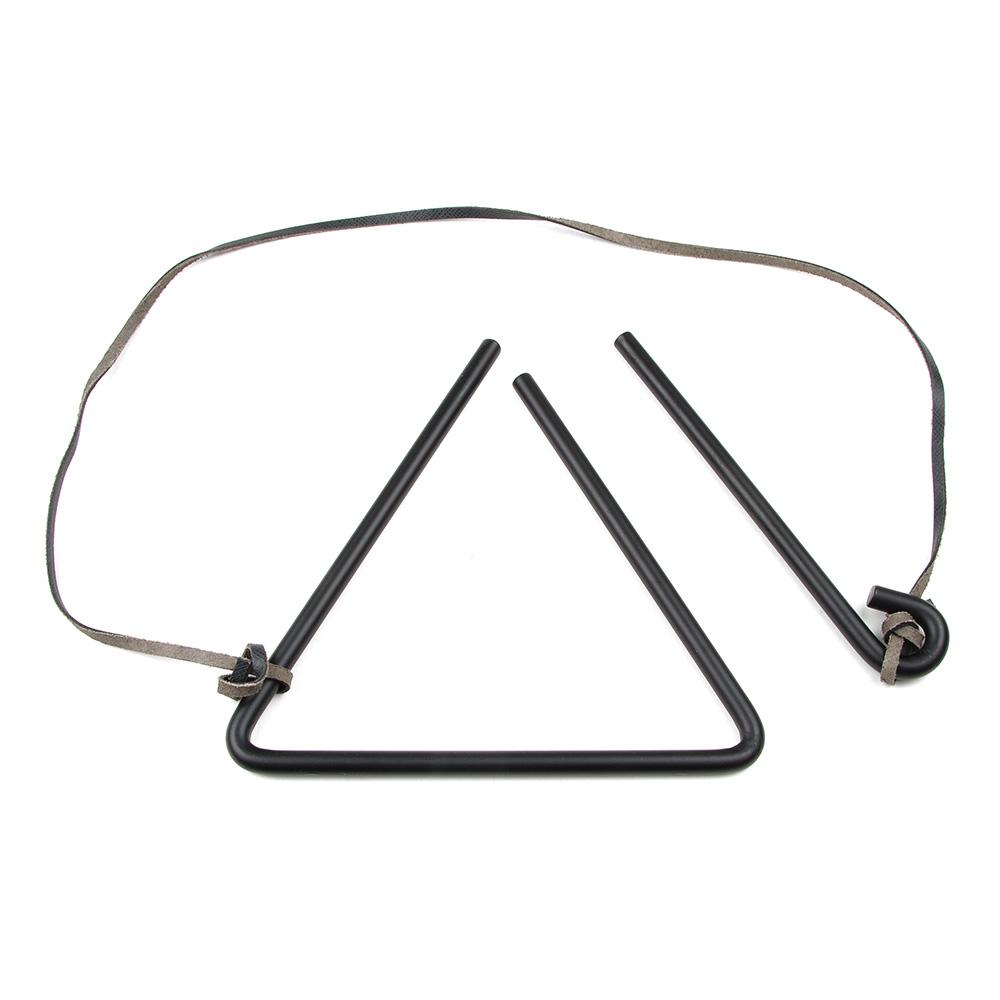 Lodge A5-5 Chuckwagon Dinner Bell w/ Black Striker & Leather Hanging Strap